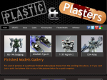 Plasticandplasters website page